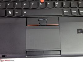 Lenovo ThinkPad W540-touchpad