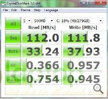 hieu suat o cung HP EliteBook 2560p