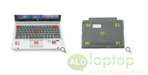 nhiet do hp elitebook 2560p