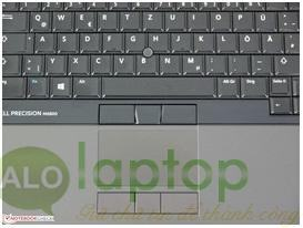 touchpad DELL PRECISION M6800