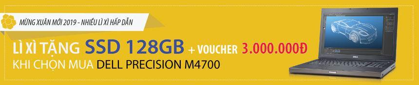 Chương trình tri ân khách hàng tặng ổ cứng ssd 128GB