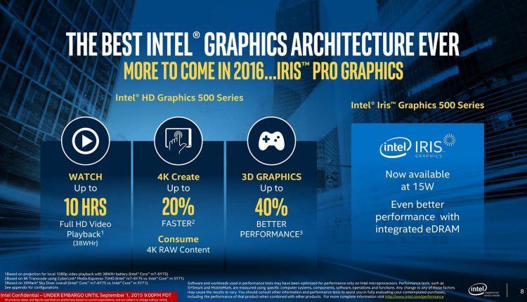 Có nên mua laptop có Chip Intel thế hệ 7 Kaby Lake ngay bây giờ ?